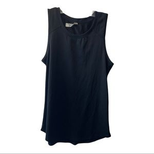 RBX simple black workout tang top size small